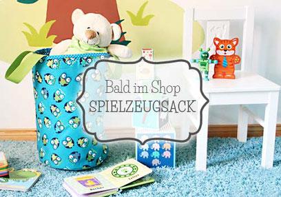 Kinderzimmer- Spielzeugsack - nähfein