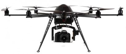 Flugdrohnen für Luftaufnahmen