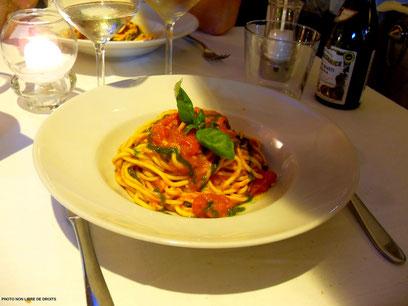 Pasta made in Italia, photo non libre de droits