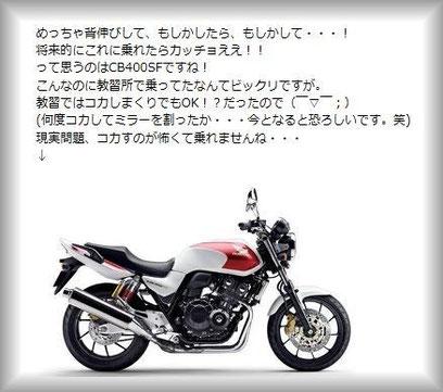 ブログ『嫁、バイクが欲しい。』より