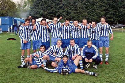 1. Mannschaft Aufstieg 2005