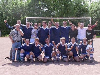 1. Mannschaft Aufstieg 2003
