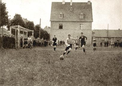 Sportplatz am Bahnhof 1926