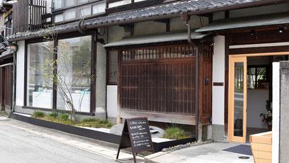 SIONEシオネ銀閣寺本店の外観