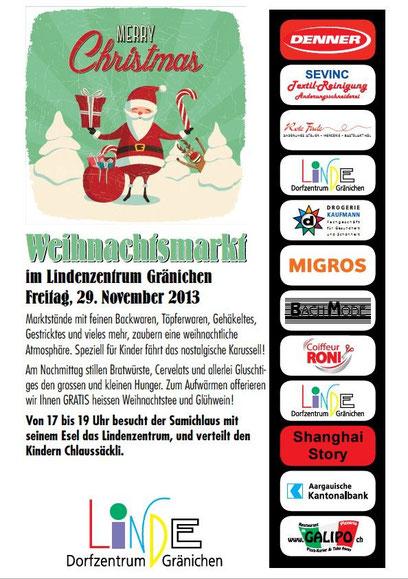 Weihnachtsmarkt 29. November 2013