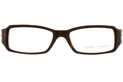 Occhiali da vista Ralph Lauren donna 6005. Colore: 5028 tartarugato scuro. Forma: squadrato. Materiale: plastica.