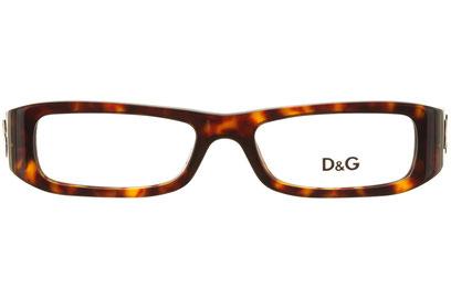 Occhiali da vista D&G 1135. Colore: 502 havana. Calibro 49-16. Materiale: acetato.