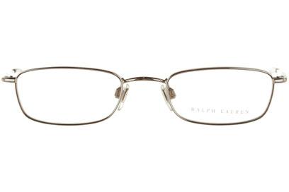 Occhiali da vista Ralph Lauren donna 5010. Colore: 9001 argento. Forma: rettangolare. Materiale: metallo.
