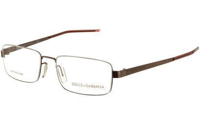 Occhiali da vista Dolce e Gabbana 0613. Colore: 111 marrone. Calibro 52-17. Materiale: metallo.