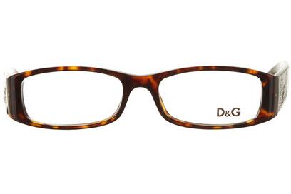 Occhiali da vista D&G 1141B. Colore: 502 havana. Calibro 50-16. Materiale: acetato.