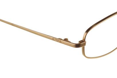 Occhiali da vista Emporio Armani 119. Colore: 904 oro. Calibro 45-20. Materiale: metallo.
