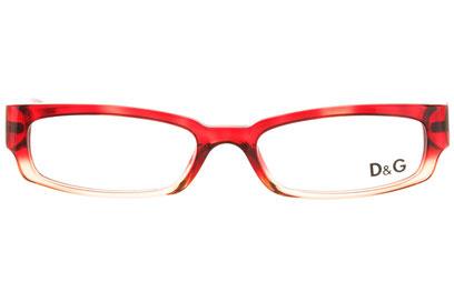 Occhiali da vista D&G 1117. Colore: 667 rosso sfumato. Calibro 52-17. Materiale: acetato.