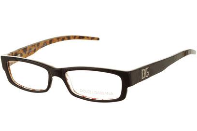 Occhiali da vista Dolce e Gabbana 0629. Colore: 819 nero. Calibro 51-15. Materiale: acetato.