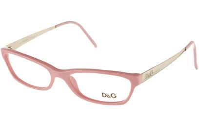 Occhiali da vista D&G 1106. Colore: 626 rosa. Calibro 51-16. Materiale: acetato.
