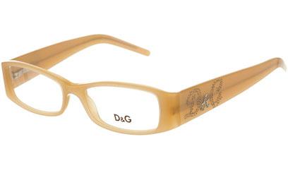 Occhiali da vista D&G 1141B. Colore: 682 beige. Calibro 50-16. Materiale: acetato.