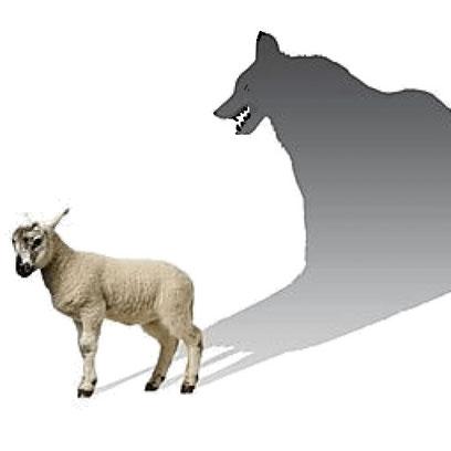 Jésus a prévenu: Méfiez-vous des prétendus prophètes! Ils viennent à vous en vêtements de brebis, mais au-dedans ce sont des loups voraces. La bête a l'apparence d'un agneau, doux et inoffensif, mais elle parle comme un dragon, comme le diable.