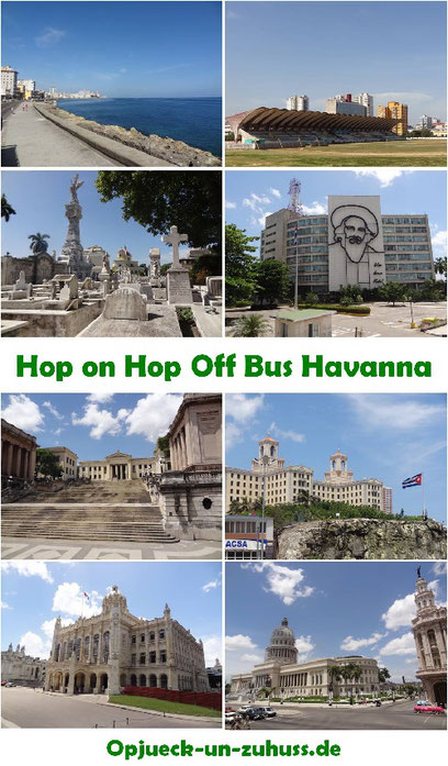 Hop on Hop off Bustour Havanna