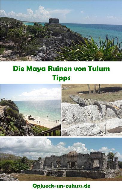 Maya Ruinen Tulum Erfahrung