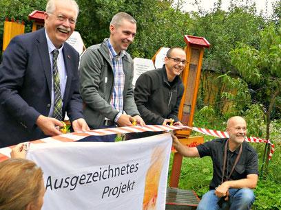 Eröffnung Bienenretter Garten BienenerlebnisGarten