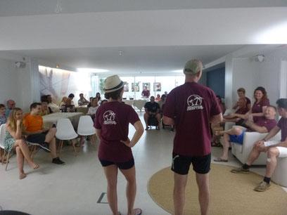 Tanztrainer und Organisator des Mallorca Dance Camps
