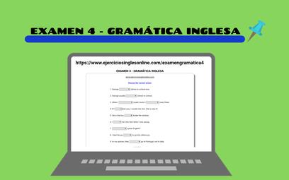 Examen 4 - Gramática inglesa