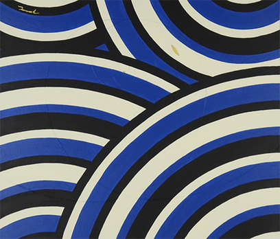 MINAMO no UTA  6   530mm*455mm   F10   2021 acrylic on canvas, wood