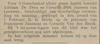 Provinciale Noordbrabantsche en 's Hertogenbossche courant 10-05-1883