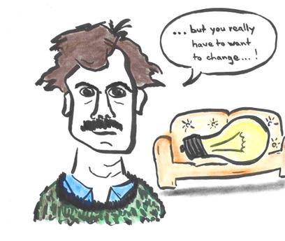 light bulb jokes: Humor ist gerade bei Themen, die wir besonders ernst nehmen wichtig.