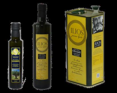 Griechisches Olivenöl extra nativ Griechenland
