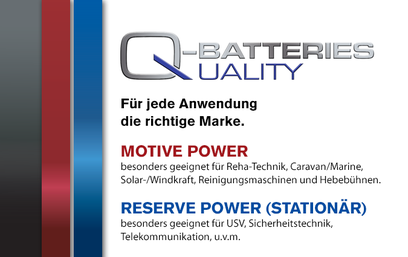 Q-Batteries Autobatterien