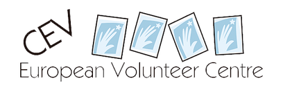 Logo CEV - European Volunteer Centre / Centre Européen du Volontariat - Freiwilligen-Zentrum Augsburg