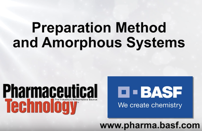 Preparation Method and Amorphous Systems
