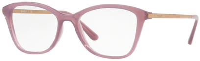 Occhiali da vista Vogue donna 5152. Colore: 2535 rosa opale. Forma: gatto. Materiale: acetato.
