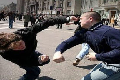 SC Int'l - Street Combatives - Unarmed Combatives - Strikolokgy - Schlagkraft Schlagkraftraining Erstschlag Präventivschlag Krav Maga Selbstschutz Selbstverteidigung Muay Thai Boxen Kickboxen MMA