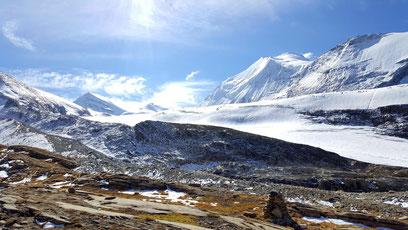 Brunegggletscher und Bishorn