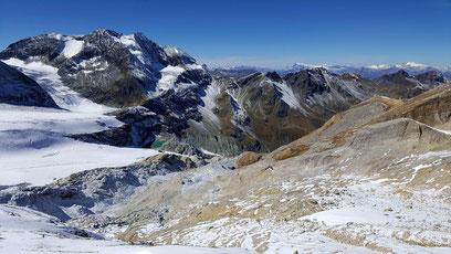 Brunegggletscher am Ausgang des Turtmanntal, Barrhorn