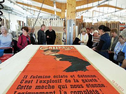 Visite atelier Quillet Loix