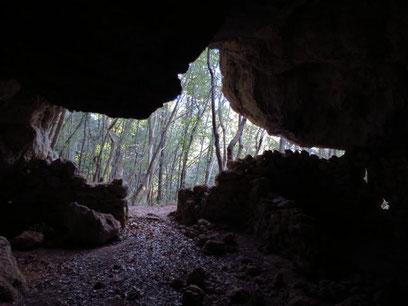 Mule Cave exit