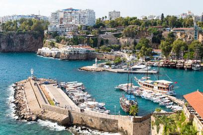 The harbor of Antalya