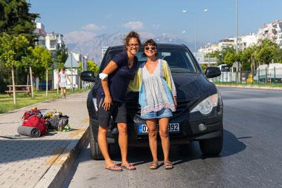 Baryhe drove us from Olympos to Antalya