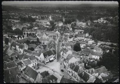 Vue aérienne de Rémalard Orne