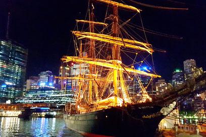 Darling Harbour, Segelschiff, Sydney, Australien