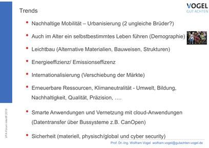 "Trends in ""Smarte Technologien am Aufzug"""