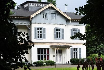 Veranstaltungsort ist die Villa Wuppermann in Leverkusen. (Foto: Lucian Bergmann)