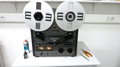 Bandmaschine Akai GX635D