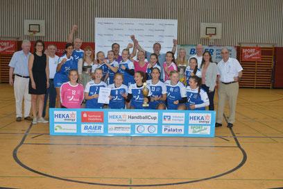 TSG Wiesloch gewann das Turnier der B-Juniorinnen.