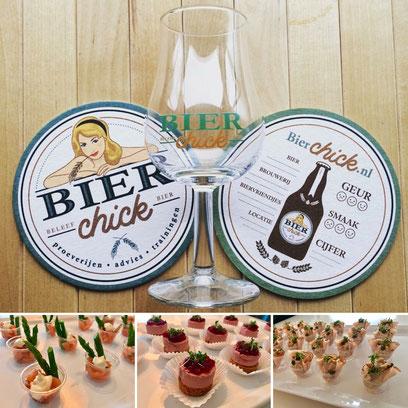 Bierproeverij van BierChick met luxe hapjes
