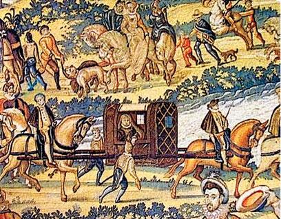 La Reine Catherine de Médicis était aussi comtesse du Lauragais à titre personnel. Elle est venue à plusieurs reprises à Castelnaudary