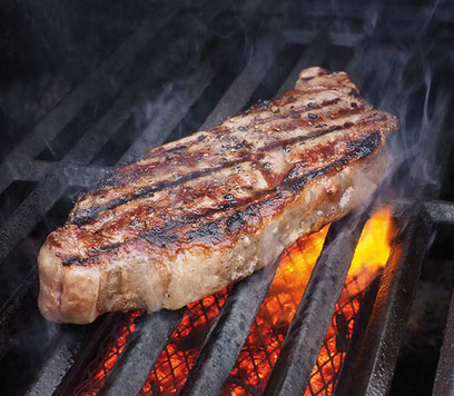 La consommation de viande a baissé de 12% en 10 ans. Les Français consomment en moyenne 46 g par jour contre 58 g en 2007 (Etude Crédoc, 2018). Crédit photo : Pixabay© dbreen