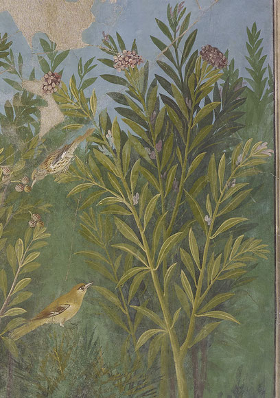 Haus des Goldarmbandes, Fresko, Pompeji